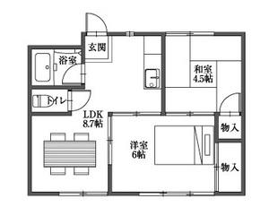 205 206号室 家具あり.jpg
